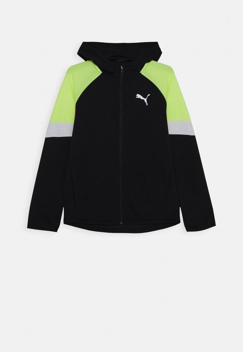 Puma - ACTIVE SPORTS FULL ZIP HOODIE - Zip-up hoodie - black