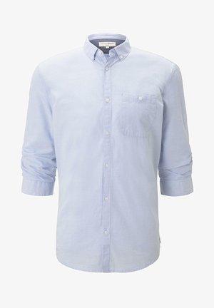 MIT 3/4-ARM - Shirt - light blue slub stripe