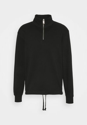 ROD HALFZIP - Sweatshirt - black