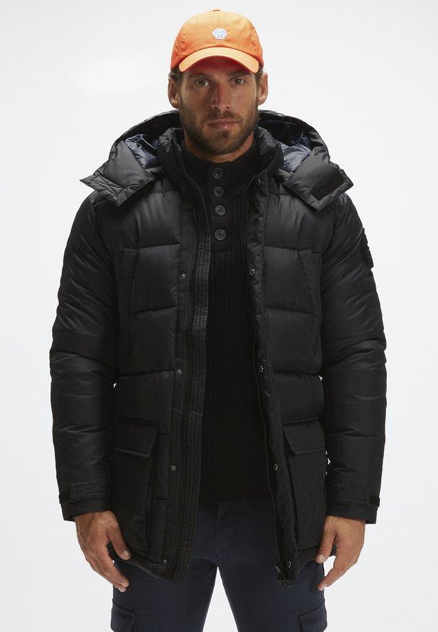 MONTEVIDEO  - Winter coat - black