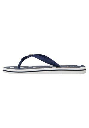 Sandaler m/ tåsplit - dark blue