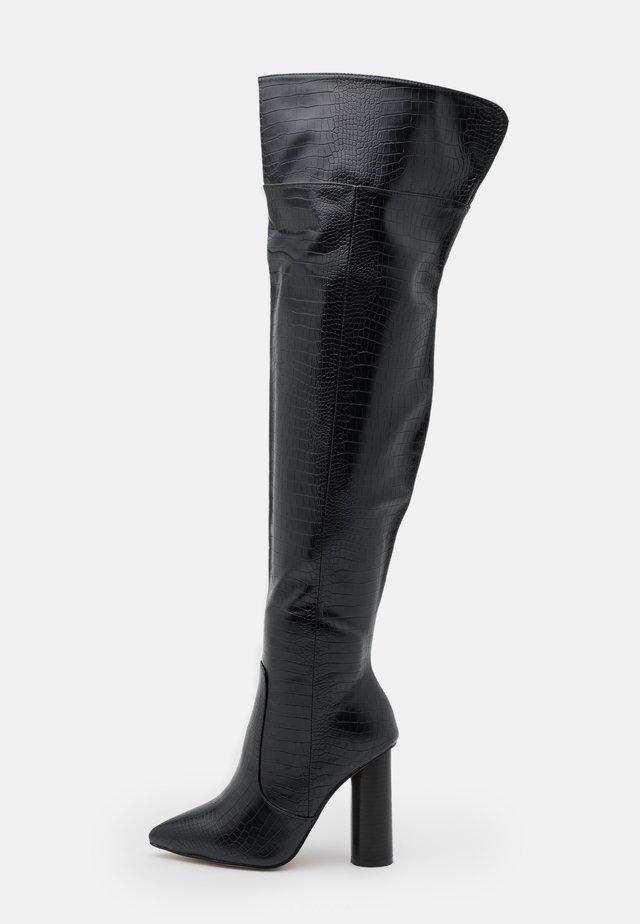 WIDE FIT TOFINO - Laarzen - black