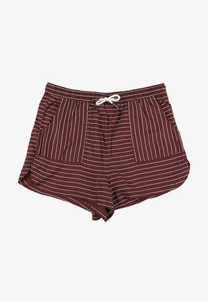 ELSA - Shorts - tawny port print