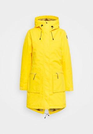AVENAL - Winter coat - yellow