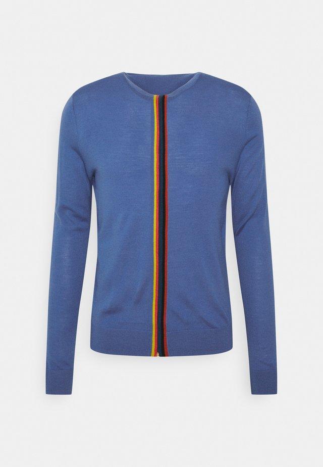 GENTS ZIP THRU - Vest - bright blue