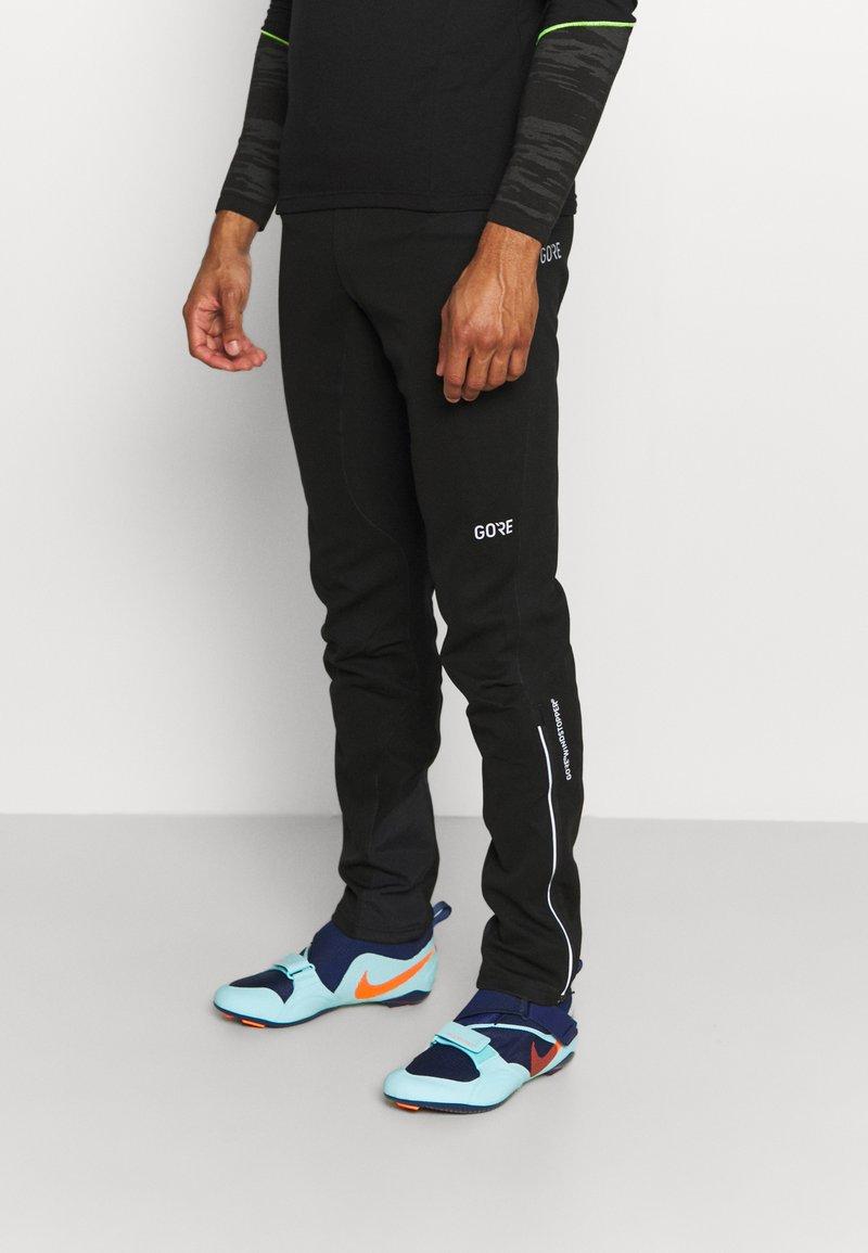Gore Wear - WINDSTOPPER TRAIL PANTS - Pantalons outdoor - black