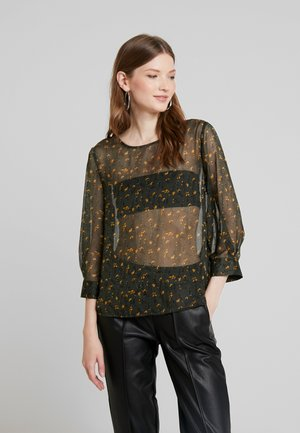 JDYFREYA 3/4 - Blouse - forest night/gold