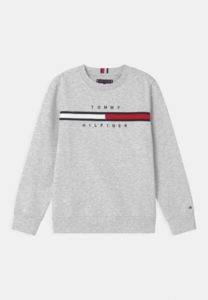 FLAG INSERT  - Sudadera - light grey heather