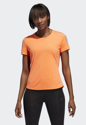 OWN THE RUN T-SHIRT - Camiseta estampada - orange