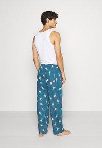 Lousy Livin Underwear - PANT ANANAS - Pyjama bottoms - blue dive - 2