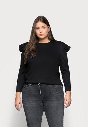 CAREVA  - Long sleeved top - black