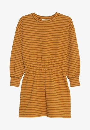 EMILIA DRESS - Jersey dress - mustard yellow