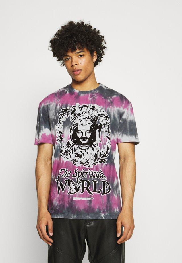 SPIRITUAL MULTI UNISEX - T-shirt imprimé - multi black