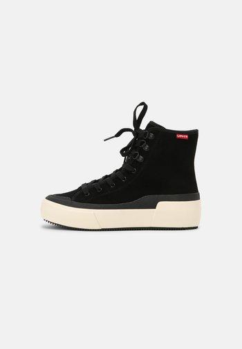 FARA HI - Sneakers alte - regular black