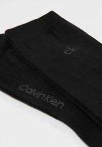 Calvin Klein Underwear - CREW  2 PACK  - Socks - black - 2