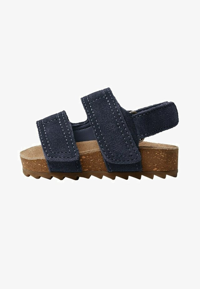 Baby shoes - bleu marine foncé