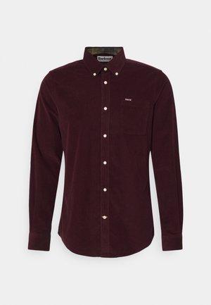 RAMSEY TAILORED SHIRT - Košile - winter red