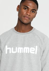 Hummel - Bluza - grey melange - 4