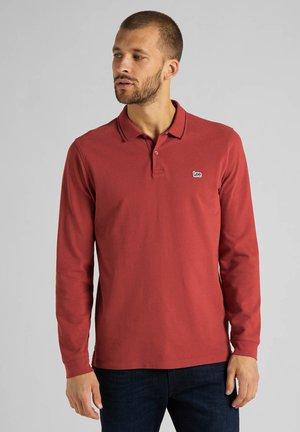 Polo shirt - red ochre