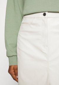 Weekday - EMMIE SKIRT - A-line skirt - beige dusty light - 4