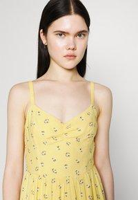 Hollister Co. - BARE SHORT DRESS - Day dress - yellow - 4