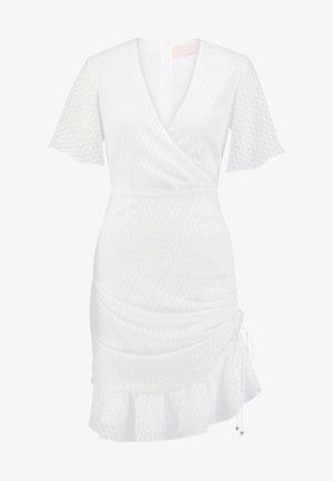 INSIGHT MINI DRESS - Denní šaty - ivory