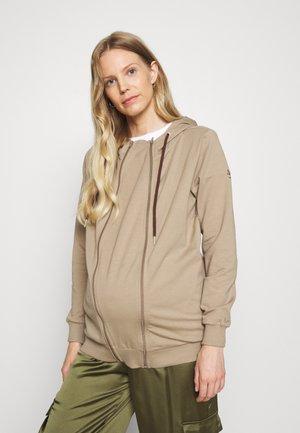 3-IN-1 BABY CARRIER HOODIE - Zip-up sweatshirt - light taupe