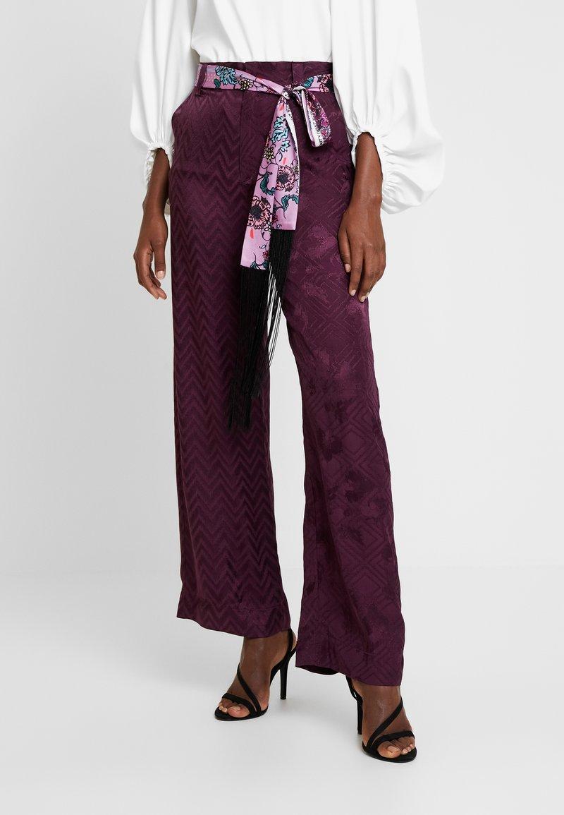 Desigual - PANT TERRY - Spodnie materiałowe - boaba