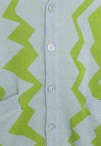 Obey Clothing - STATIC CARDIGAN - Neuletakki - good grey/multi - 6