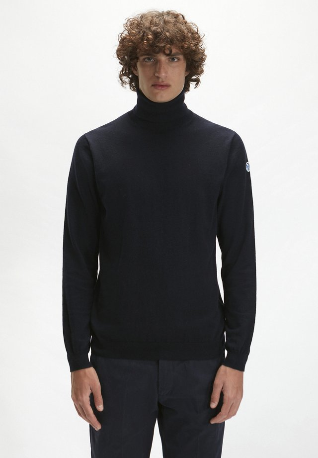 Jumper - navy blue