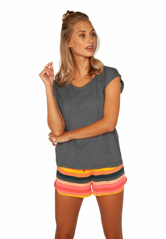 NICE  - T-shirt print - grey