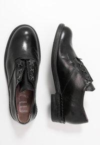 MJUS - Šněrovací boty - nero - 3