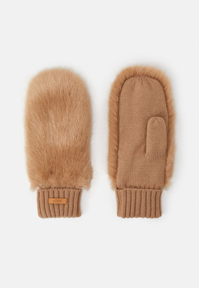 DOROTHY MITTS - Muffole - light brown