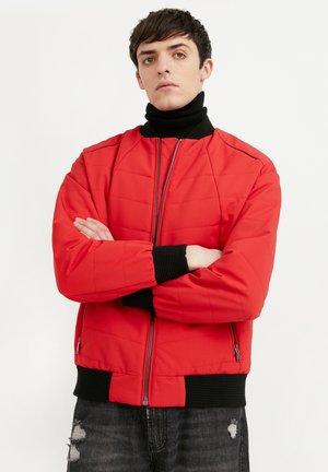 Blouson Bomber - red