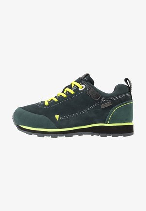 KIDS ELETTRA LOW SHOES WP - Hiking shoes - jungle/antracite