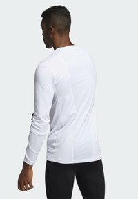 adidas Performance - Long sleeved top - white - 1