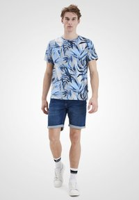 Blend - T-shirt print - chip grey - 1