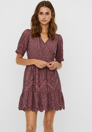 MINIKLEID WICKEL - Day dress - rose brown