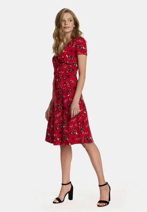 RED PARADISE  - Jersey dress - rot allover