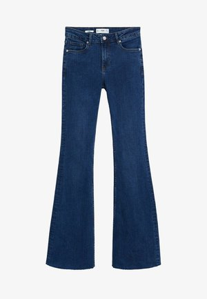 FLARE - Flared Jeans - donkerblauw