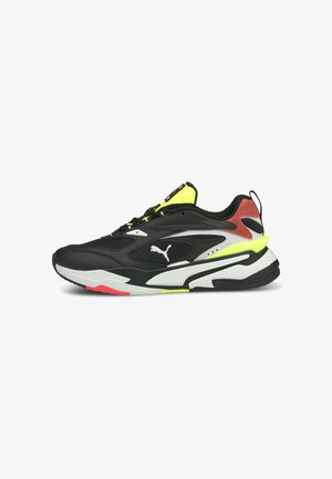 RS-FAST MIX  - Trainers - puma black/white/ig pink