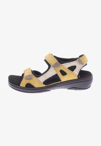 GINI - Walking sandals - curry