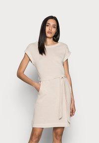 Esprit - DRESS  - Jersey dress - sand - 0
