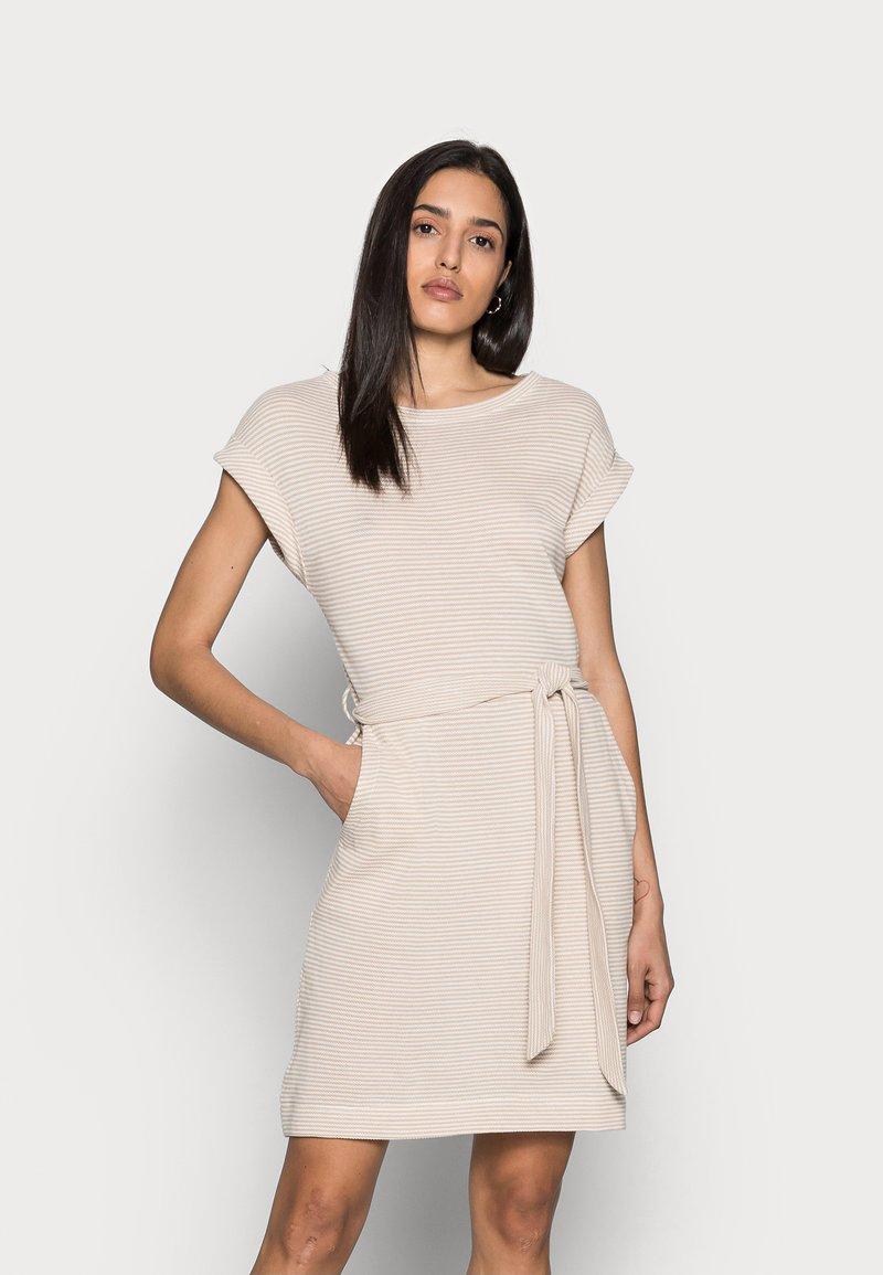 Esprit - DRESS  - Jersey dress - sand