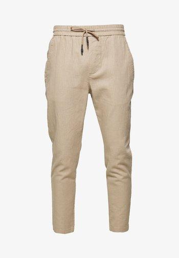 ONSLINUS CROP  - Pantaloni - chinchilla