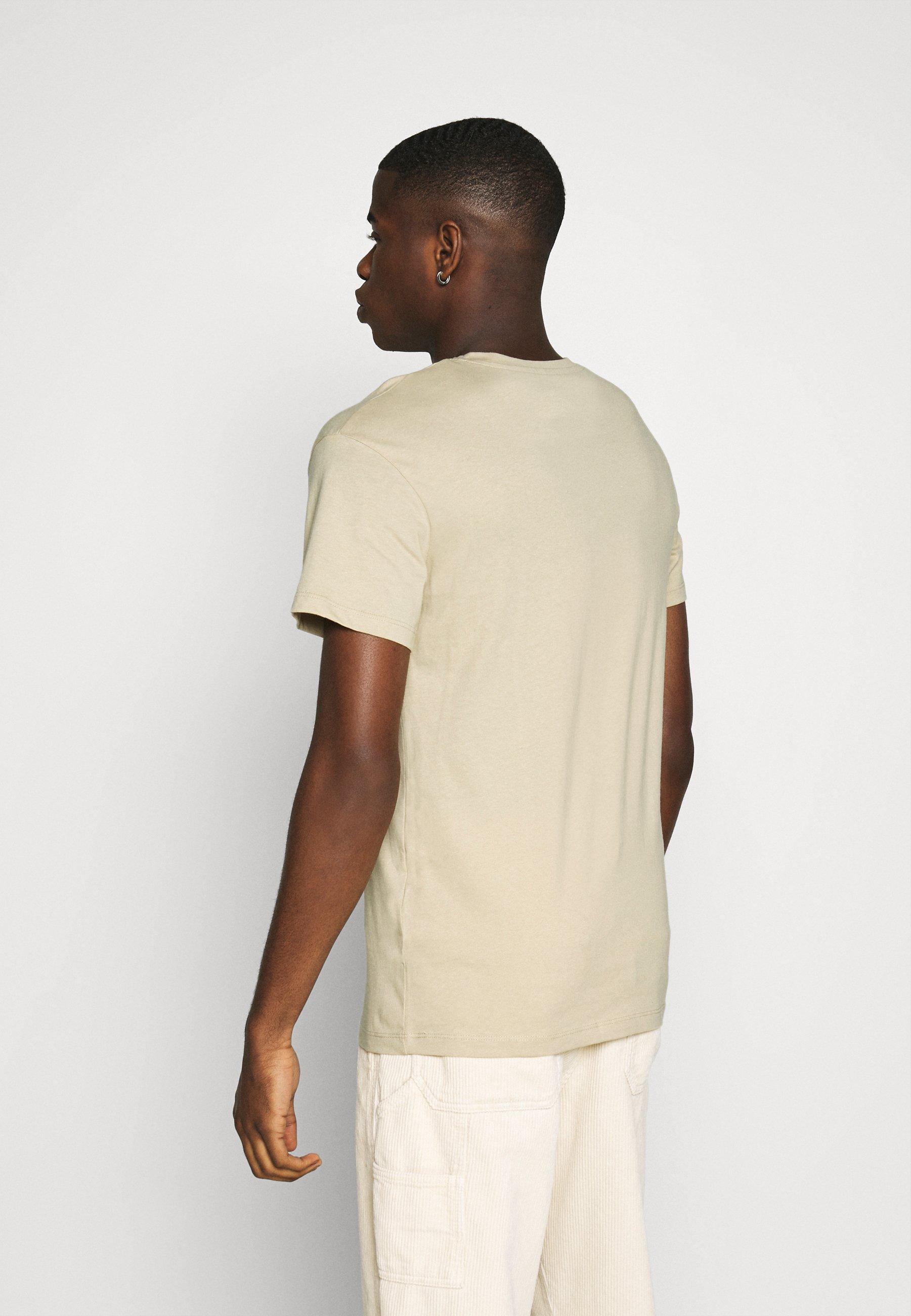 Jack & Jones JORART CREW NECK - Print T-shirt - white pepper zjKd5