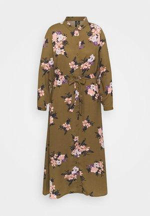 VMNEWALLIE  - Shirt dress - beech/newallie