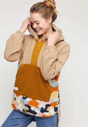 YUMA - Fleece jacket - multi/tan/curry