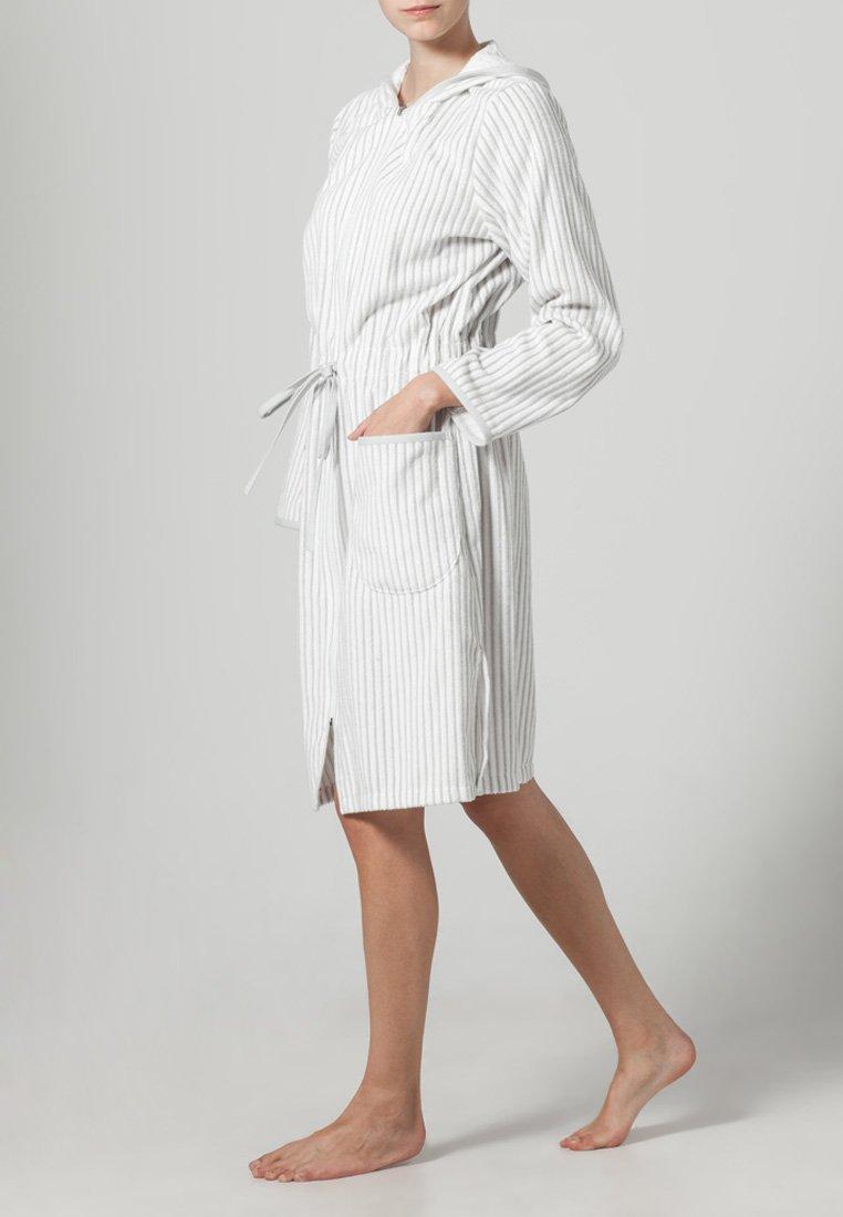 CAWÖ - Dressing gown - weiß/silber