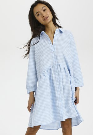 Blousejurk - light blue check